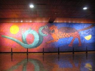タマヨ氏の壁画