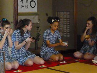 茶道の授業