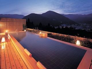 下呂温泉 ホテル くさかべアルメリア の展望風呂