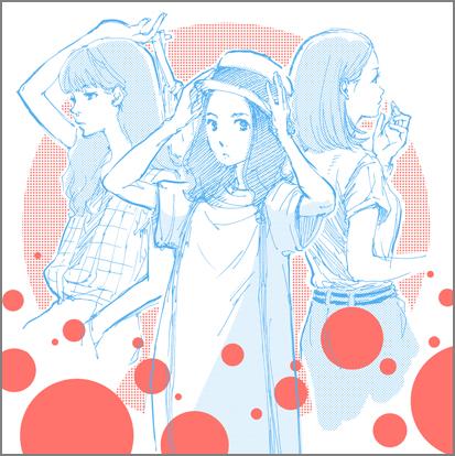 Girlsスケッチ_3