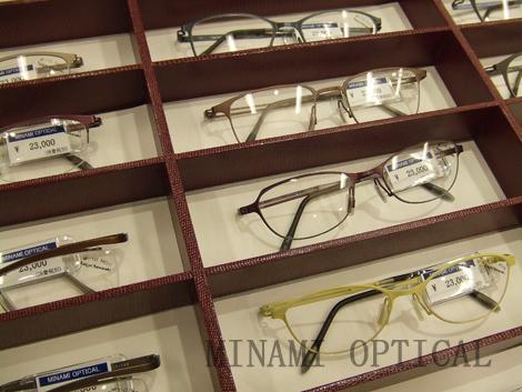 増永眼鏡トランクショー2014 KazuoKawasaki