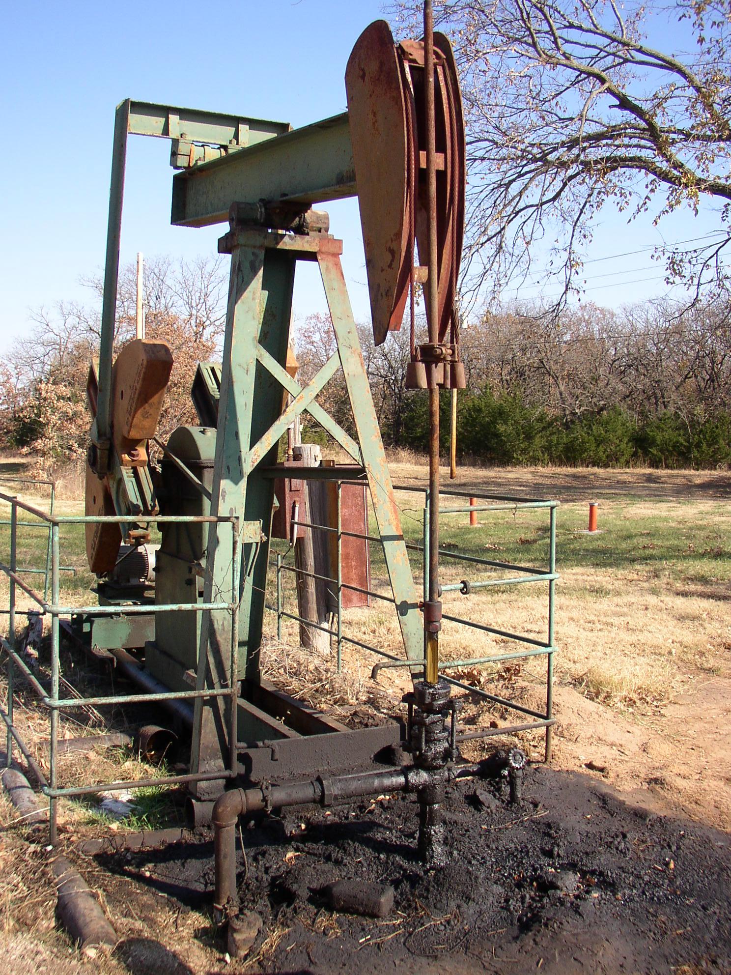 石油ポンプ3