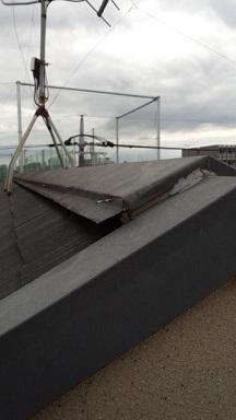みらい住建 リフォーム 屋根材の釘抜け3号30日②縮小