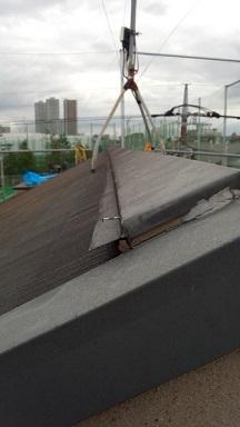 みらい住建 リフォーム 屋根材の釘抜け3号30日③縮小