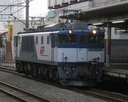EF64 1034[愛](2014年8月30日・西国分寺駅)