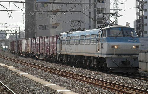 EF66 124[吹](2014年9月3日・八丁畷駅)
