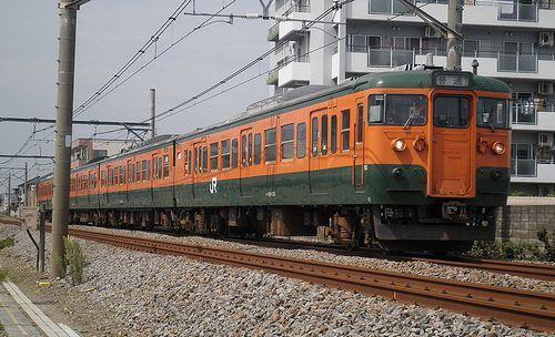 高タカ115系1000番代・T1145編成(上尾~北上尾間・2014年9月5日)1