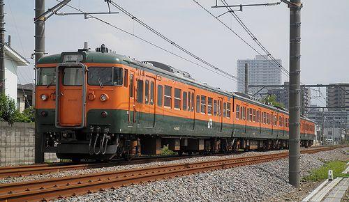 高タカ115系1000番代・T1145編成(上尾~北上尾間・2014年9月5日)2