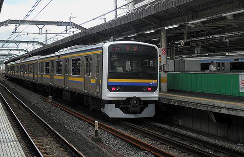千マリ209系2100番代・C426編成(赤羽駅・2014年9月5日)