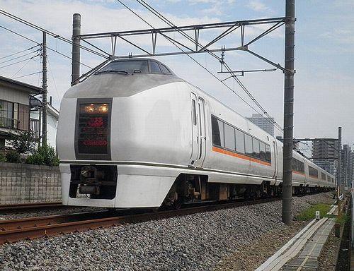 宮オオ651系1000番代・OM303+OM203編成(上尾~北上尾間・2014年9月5日)