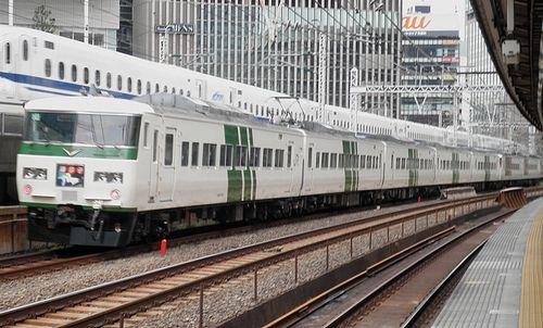 宮オオ185系「C4」編成(2014年9月5日・有楽町駅)