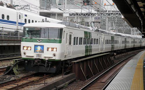 宮オオ185系「C1」編成(2014年9月5日・有楽町駅)