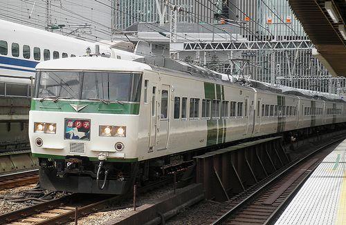 宮オオ185系「A8」編成(2014年9月5日・有楽町駅)