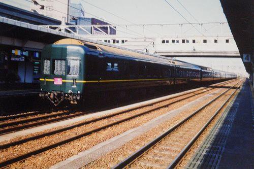 「トワイライトエクスプレス」(2002年7月・福井駅)