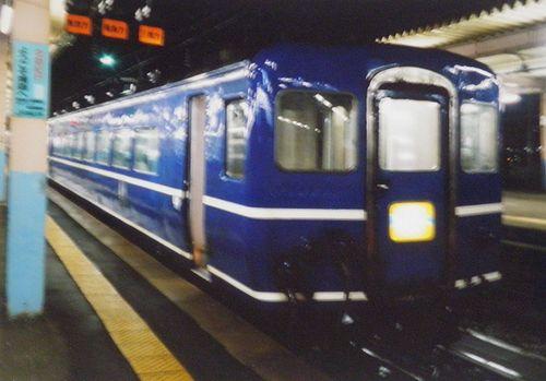「はまなす」(2005年7月21日・青森駅)