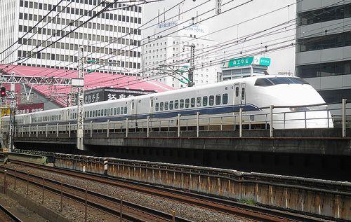 新幹線300系「J55」編成(2011年8月26日・有楽町駅)
