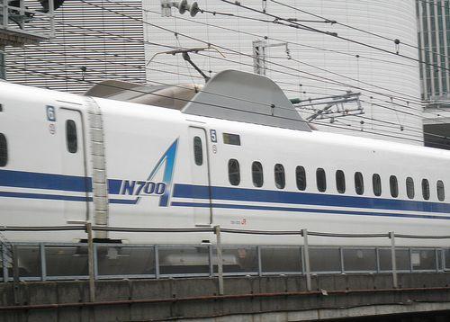 新幹線N700系A「G5」編成(2014年9月5日・有楽町駅)2