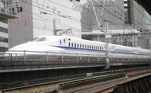 新幹線N700系A「G5」編成(2014年9月5日・有楽町駅)1