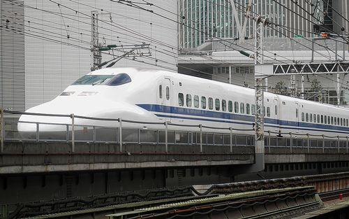 新幹線700系「C26」編成(2014年9月5日・有楽町駅)