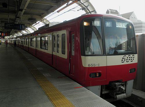 京急電鉄600系「655」編成(2014年9月3日・京急蒲田駅)