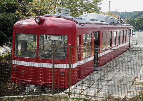 京急電鉄旧・600系「デハ601」(2014年10月9日・逗子市立第一運動公園)