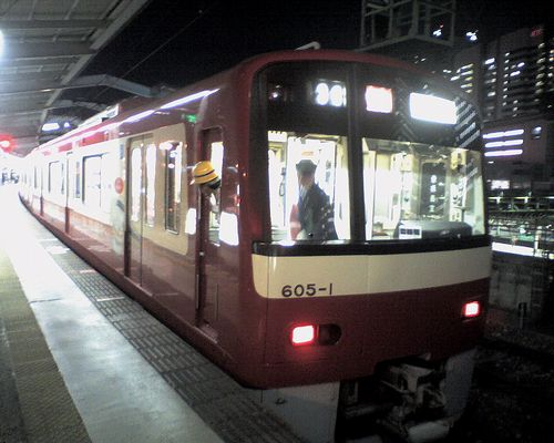 京急電鉄600系「605」編成(2009年12月17日・品川駅)