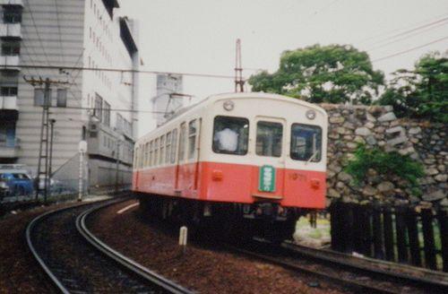 高松琴平電気鉄道1070形(1996年6月・高松築港~片原町間)