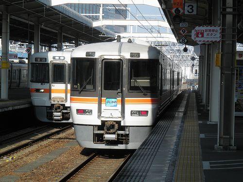 静シス373系特急「(ワイドビュー)ふじかわ」(2014年3月16日・静岡駅)