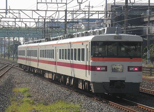 東武鉄道350系・特急「しもつけ」(2014年10月18日・杉戸高野台駅)