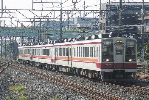 東武鉄道6050系快速(浅草~東武日光・会津田島間)(2014年10月18日・杉戸高野台駅)