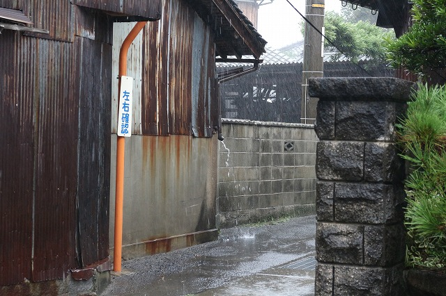 台風19号玄関から東 26.10.13