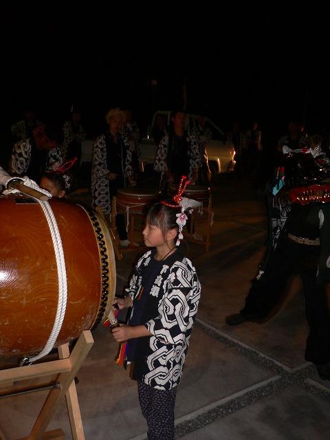 祭り太鼓夜遅くまで 26.10.11
