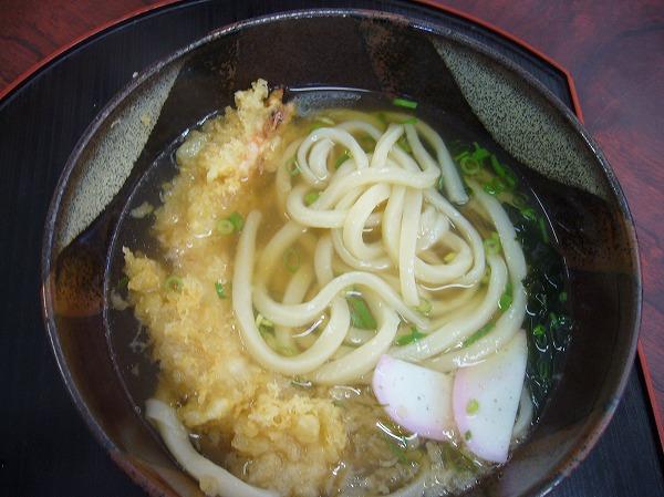 天ぷらうどん 26.9.28