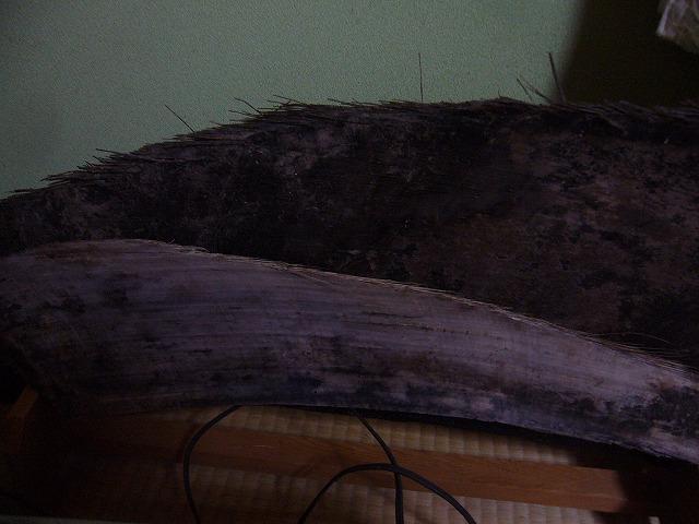 鯨のひげ絡繰りに使用 26.10.9