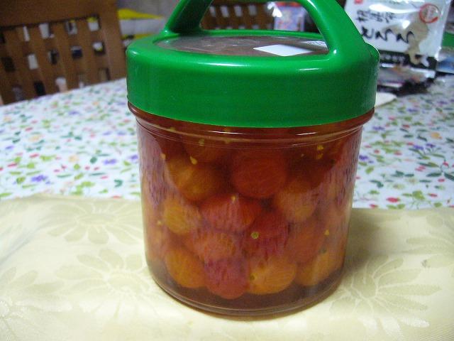 ミニトマトのべんりで酢漬け 26.10.18