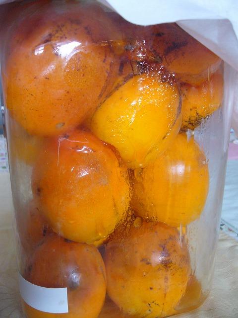 柿酢作り 26.10.18
