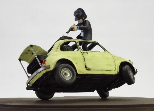 ルパン・フィアット500 12