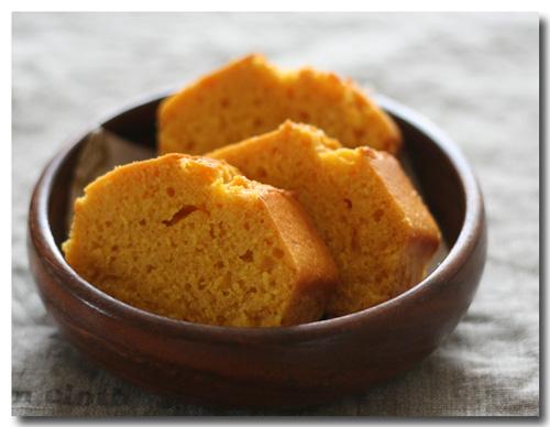 にんじんのパウンドケーキ