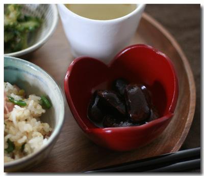 花豆の煮物