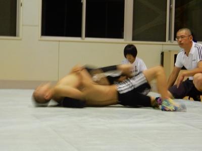 レスリング練習 013