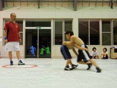 レスリング練習 003