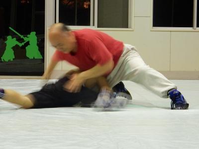 レスリング練習 017