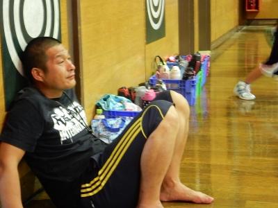 高校バスケ練習試合 009