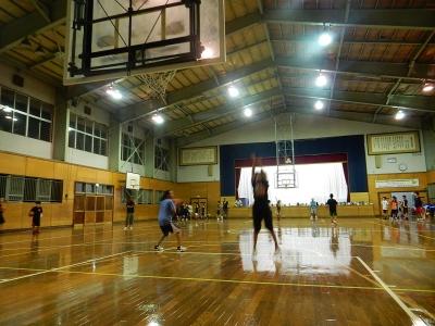 高校バスケ練習試合 005