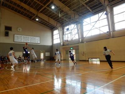 高校バスケ練習試合 015
