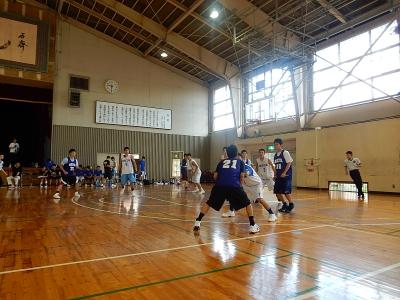 高校バスケ練習試合 012