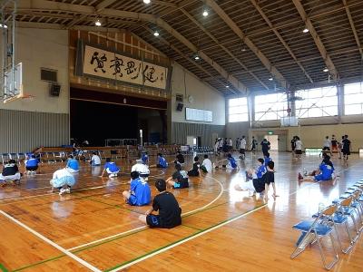 高校バスケ練習試合 011
