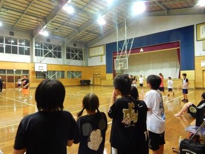高校バスケ練習試合 021