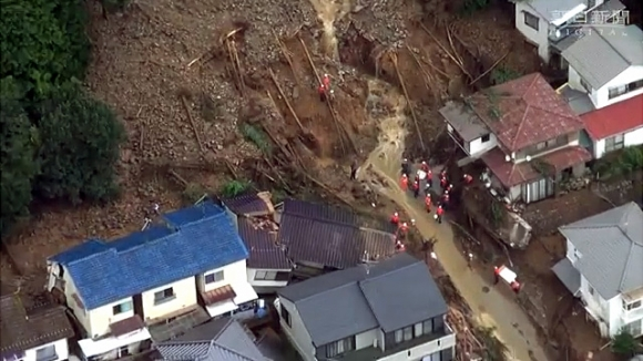 広島土砂災害③