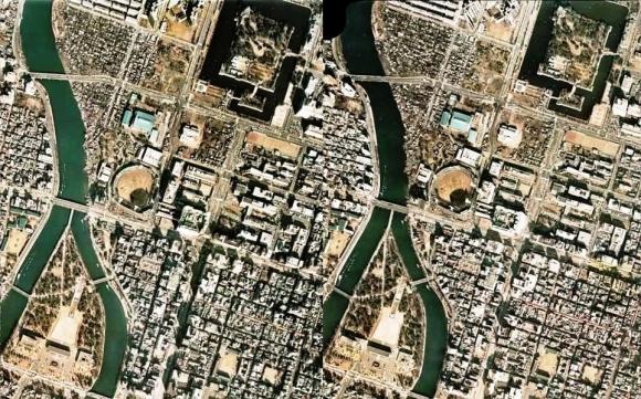 広島市中区70年代(平行法)